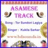 Tor Sundori Lagiya Karaoke Assamese Baganiya Song By Kukila Sarkar