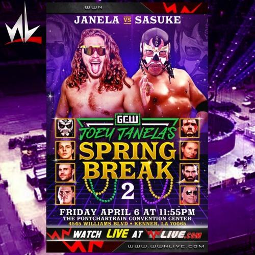 nL Live - Joey Janela's Spring Break 2 Commentary!