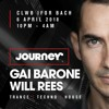 Will Rees @ Journey, Clwb Ifor Bach, Cardiff 2018-04-06 Artwork