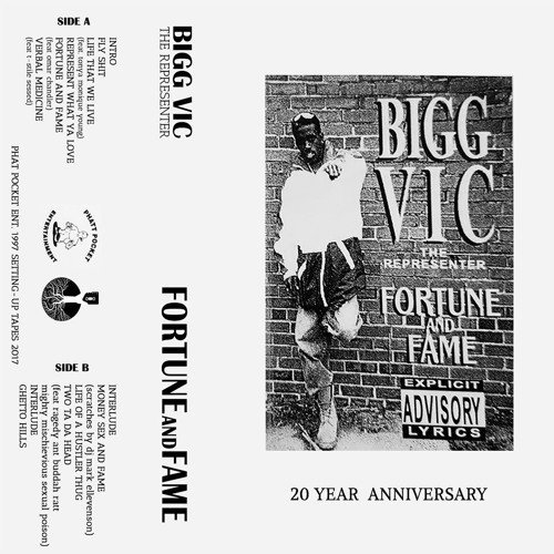 Bigg Vic - Money Sex And Fame (scratches By DJ Mark Ellevenson)