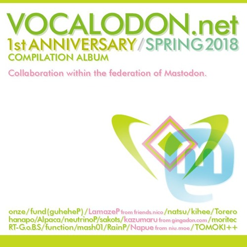 Vocalodon Compilation 2018 Spring Crossfade