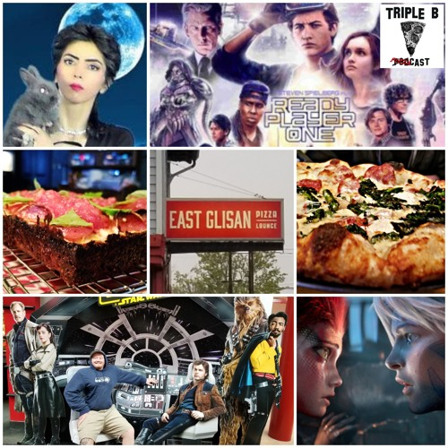 Episode 78 - Ready Player One, East Glisan Pizza Lounge (4 - 7 - 18)