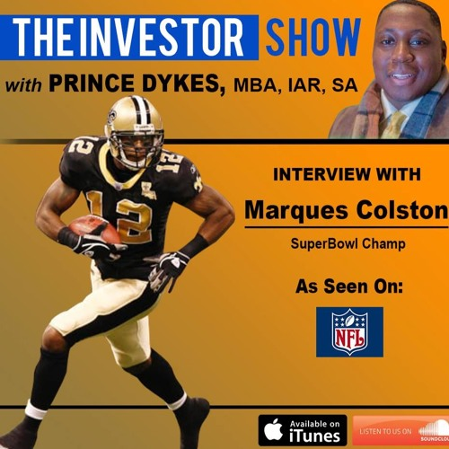 NFL SuperBowl Champ to Venture Capitalist Marques Colston