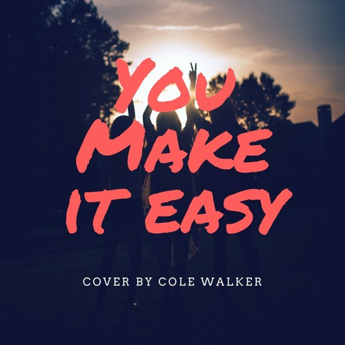 You Make It Easy-Jason Aldean (Cover By Cole Walker)
