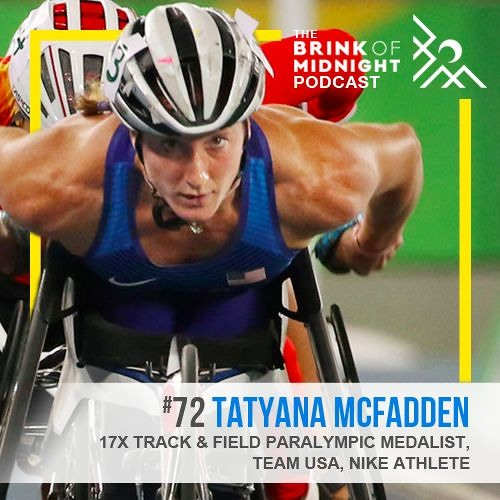 TATYANA MCFADDEN, 17x Paralympic Medalist, Team USA, Nike Athlete: Ya sama! (I Can Do It!)