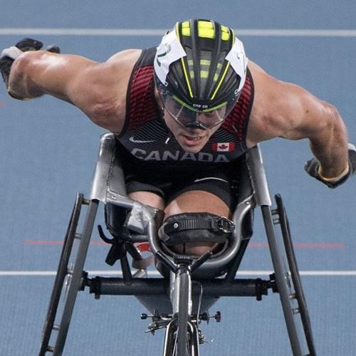 Alexandre Dupont médaillé d'or au 1500 m T54 des Jeux du Commonwealth