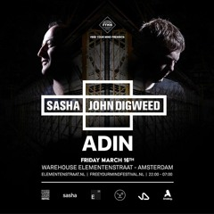 ADIN @ FYM presents Sasha & John Digweed 2018