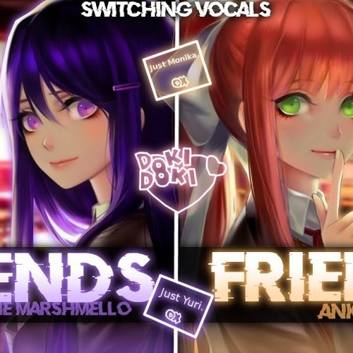 ◤Nightcore◢ -- FRIENDS [Switching Vocals | ANKOR COVER]