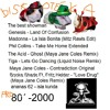 Ananas 62 - 80 Years Music Stars