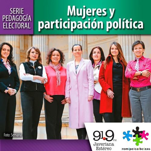 Mujeres y participación política