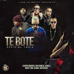 Te Bote Remix Casper Magico, Nio Garcia, Darell Nicky Jam, Ozuna, Bad Bunny