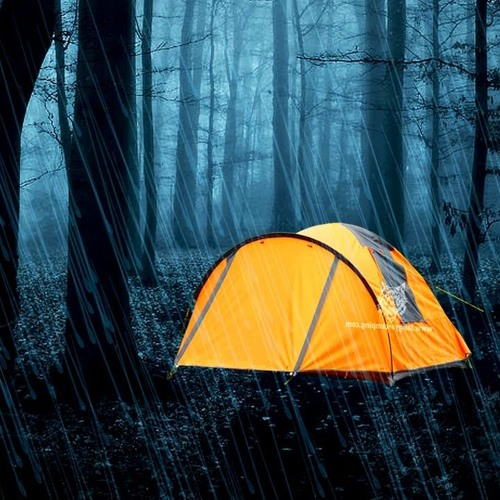 Image result for rainy tent