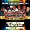 Luv Injection / Trevor Sax / Missile Sound 03/18 UK (Reggae Dancehall Extravaganza)
