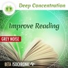 """Deep Concentration """"Improve Reading"""" ☯ Grey Noise + Beta Isochronic Tones ⬇FREE DL⬇"""