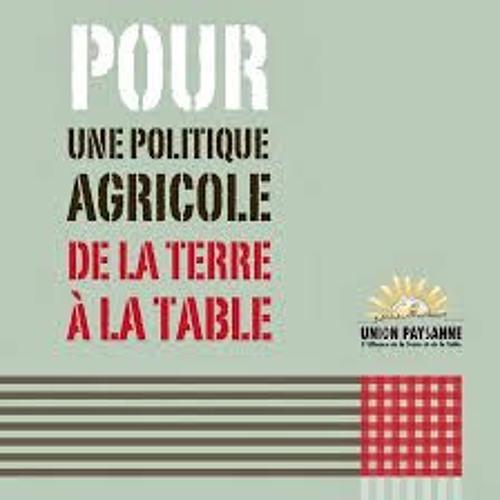 Entrevue - la politique bioalimentaire du gouvernement -  Marie-Josée Renaud