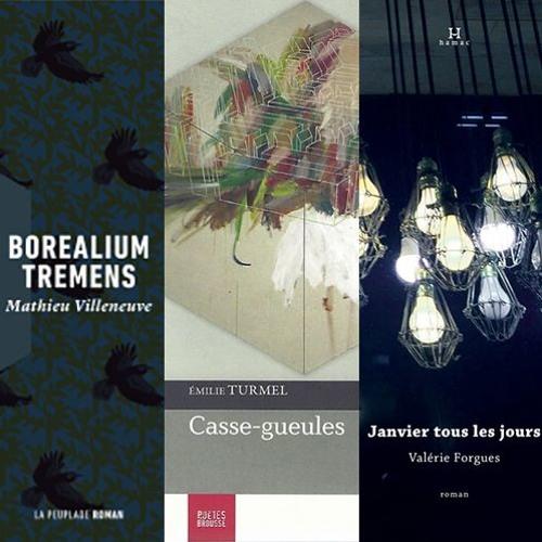table ronde - être auteur.e à Québec - Émilie M.Turmel, Valérie Forgues et Mathieu Villeneuve