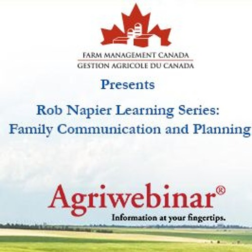 Rob Napier Learning Series: Family Communication And Planning