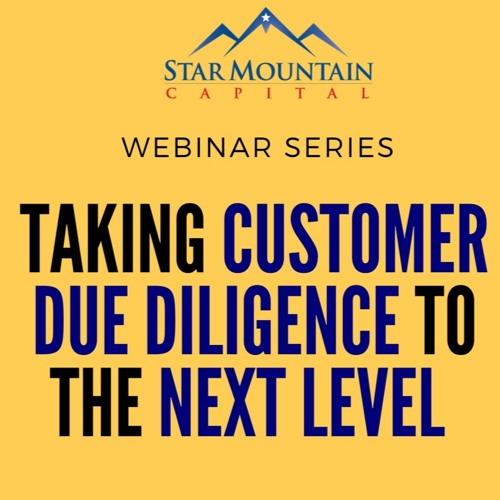 Taking Customer Due Diligence To The Next Level