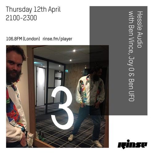 Hessle Audio with Ben Vince, Joy O & Ben UFO - 12th April 2018