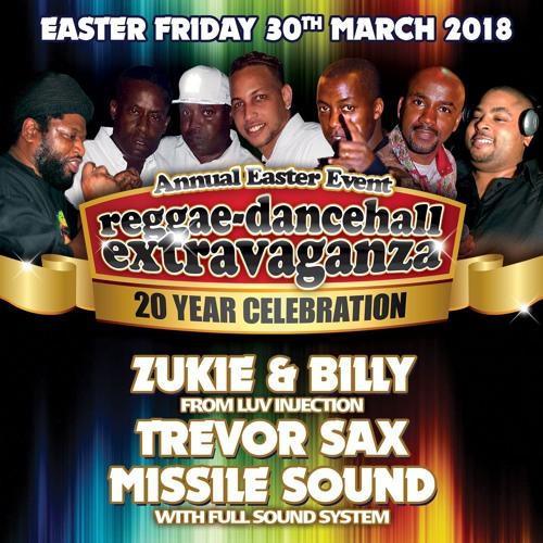 Luv Injection, Trevor Sax & Missile Sound 2018 Ipswich Reggae Extravaganza