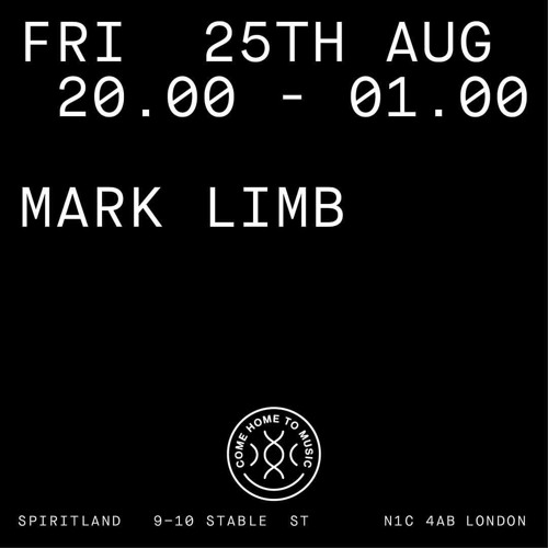Mark Limb at Spiritland  25th August 2017