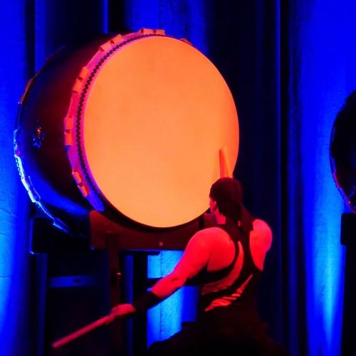 Sound of Hira-Daiko drum high-quality 90cm - 2 years in use - Frank Dubberke WADOKYO