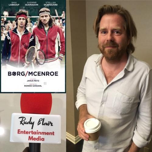 Chat w Director Janus Metz Pedersen on movie Borg vs. McEnroe