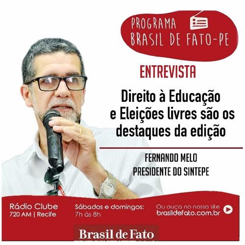 Ouça o Programa Brasil de Fato - Edição Pernambuco - 14/04/18