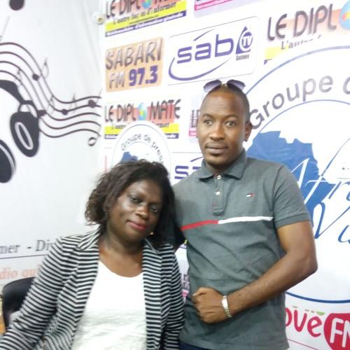 "Interview Therese Beticka - ""Le Barreau"" SABARI FM"