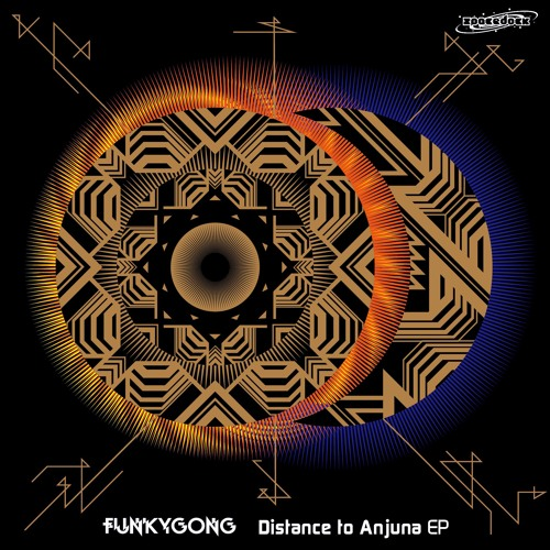 SDDG013 - Funky Gong - Distance To Anjuna EP