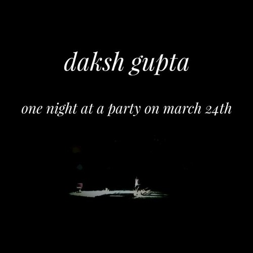 One Night At A Party On March 24th (Demo, Unreleased)