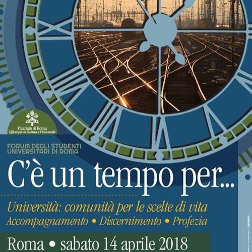 Forum degli Universitari di Roma 2018 (relazione Andrea Lonardo)