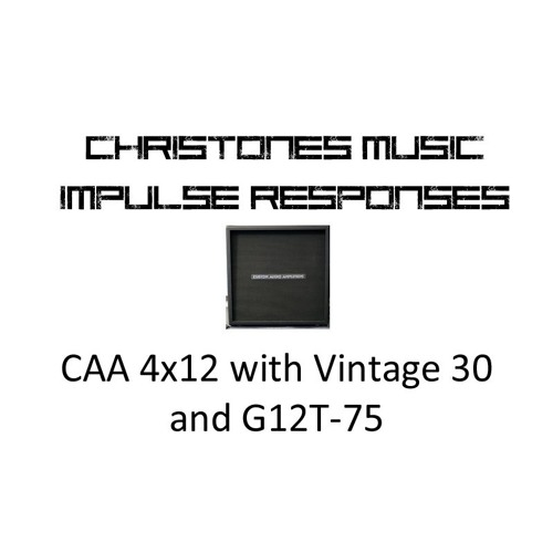 Demo: CTM CAA 4x12 with Vintage 30 and G12T-75 IRs
