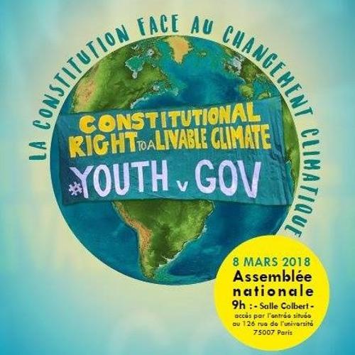 Colloque du 8 Mars 2018 : La constitution face au changement climatique
