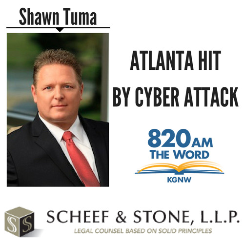 City of Atlanta Hit by Cyber Attack || Shawn Tuma discusses LIVE (4/10/18)