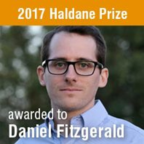 FE: Lara Ferry talks to Daniel Fitzgerald, winner of the 2017 Haldane Prize