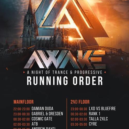 Damian Duda - AWAKE Opening @ Bootshaus, Cologne DE - 01.04.2018