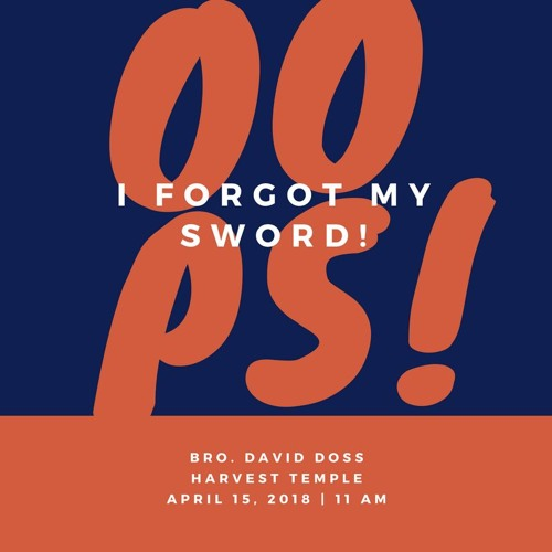 2018 - 15 - 04 - 11am - Oops I Forgot My Sword - Bro Doss
