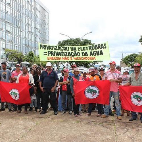 Ato no Ministério das Minas e Energia denuncia tentativa de venda da Eletrobras