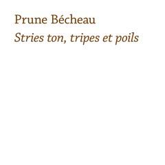 """Prune Bécheau - """"zzffk zzffk"""" (excerpt)"""