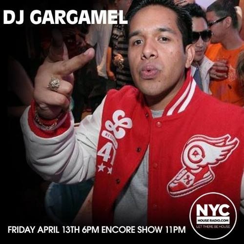 DJ Gargamel, NYCHOUSERADIO.COM (friday april 13th mix)