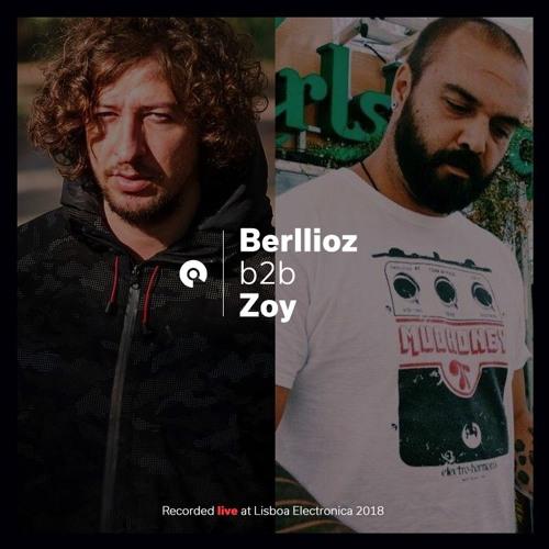 Berllioz & Zoy [Live] @ Lisboa Electronica 2018 (BE-AT.TV)