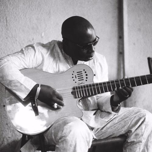 Vieux Farka Touré, at home
