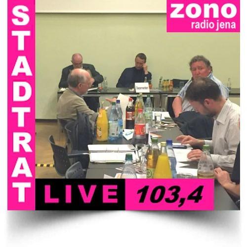Hörfunkliveübertragung (Teil 1) der 43. Sitzung des Stadtrates der Stadt Jena am 18.04.2018