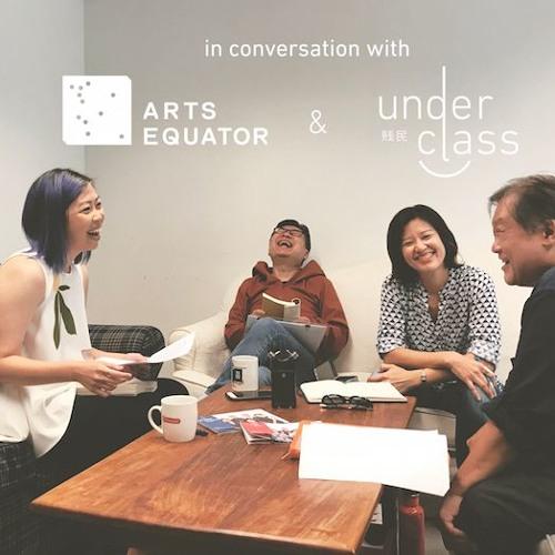 "Podcast 38 ""Underclass"": Interview with Alvin Tan, Kok Heng Leun, and Teo You Yenn"