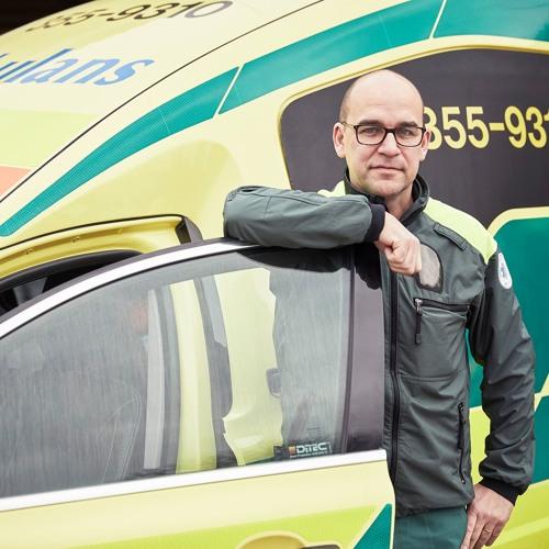 Magnus Lindroth, Falkenberg ambulans