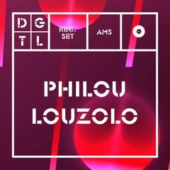 PHILOU LOUZOLO / DGTL AMSTERDAM / GAIN BY RA/ 31.03.2018