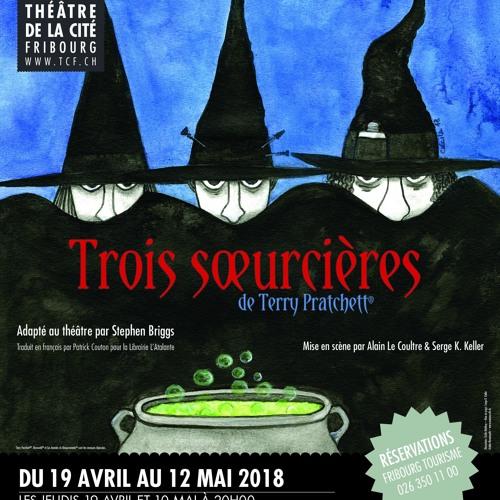 Trois sœurcières, de Terry Pratchett - Interview sur Radio Fribourg du 19 avril 2019