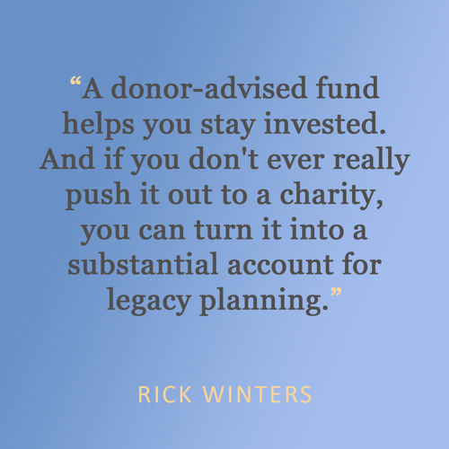 Charitable Giving and the New Tax Code: Interview with Jeff DeMaso and Rick Winters
