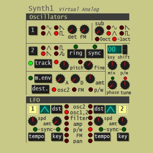 Making 80's tunes with Synth1 (free VST) by Otto van Zanten | Free